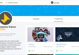 Les campagnes de crowdfunding réalisées par des porteurs de projet Enactus